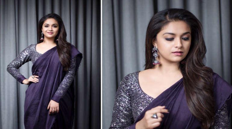 Actress Keerthi Suresh New Look