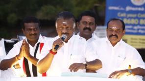 AIADMK Internal News O.Paneerselvam in Ottapidaram Campaign