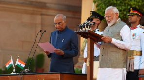 NDA Government Swearing-In Function