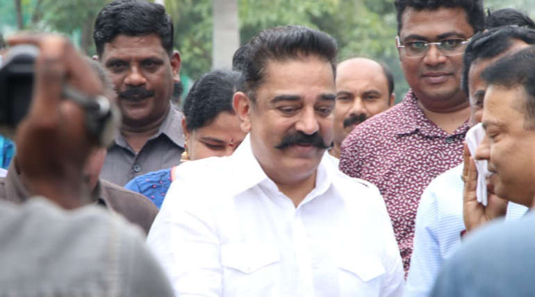 Kamal Hassan Airport Interview