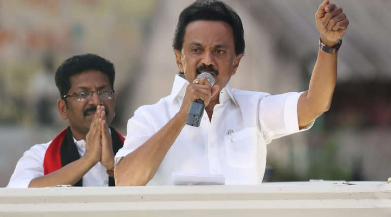 DMK President Stalin Challenges Modi and Tamilisai