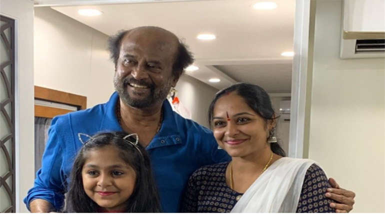 Rajinikanth in Darbar Shooting Spot