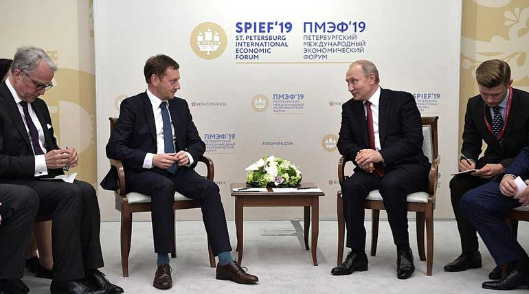 International Economic Forum 2019. President of Russia