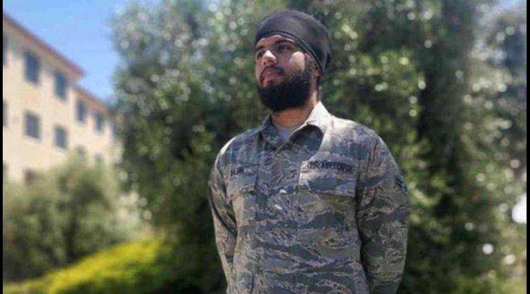 Sikh American Airman
