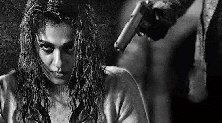 Actress Nayanthara in Kolaiyuthir Kaalam