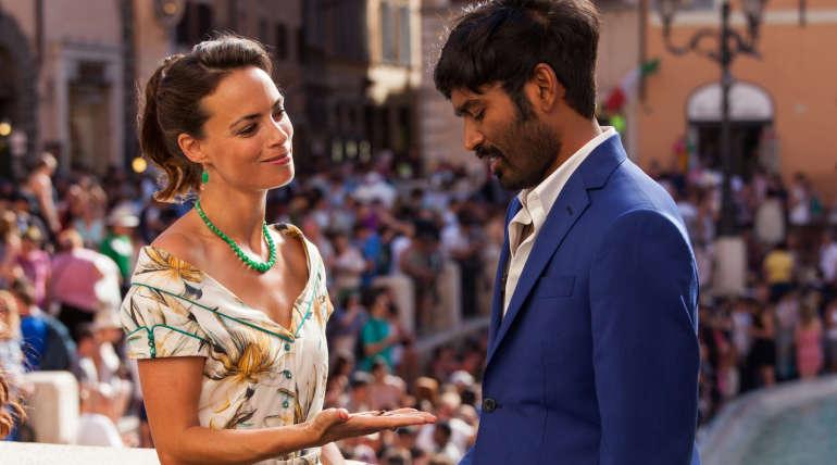 Actor Dhanush and Actress Bérénice Bejo starring Pakkiri Movie