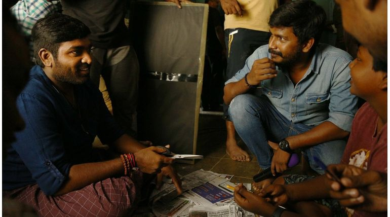 Sindhubaadh Movie Working Still