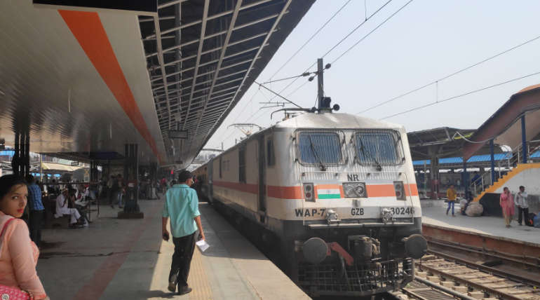 Massage Services Available for Passengers on Board running Trains