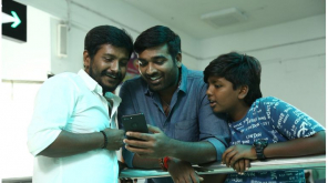 Vijay Sethupathi with his son and Dir Arun Kumar