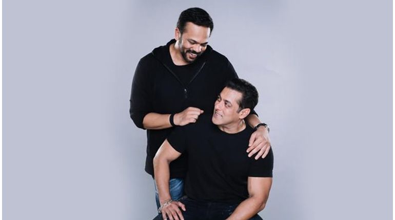 Rohit Shetty with Salman Khan