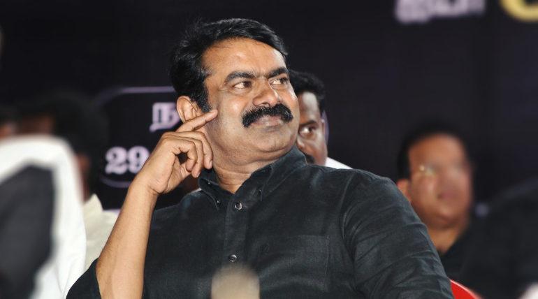 Naam Tamilar Party coordinator Seeman