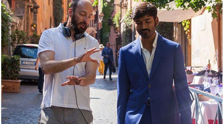 Pakkiri Movie Director Ken Scott with Dhanush