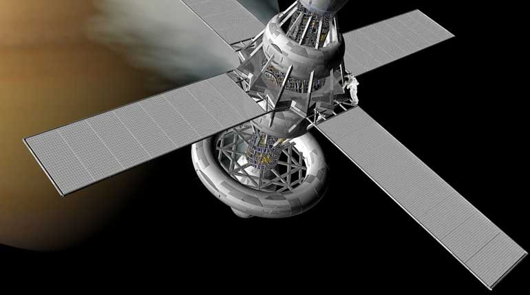 Indian Will have Its Own Space Station By ISRO New Ambition. Representation Image MaxPixel
