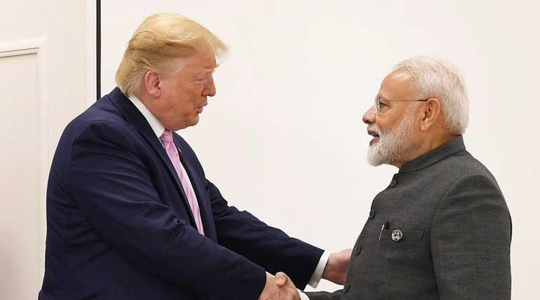 G20 Summit 2019 Modi and Trump. Image PM Narendra Modi