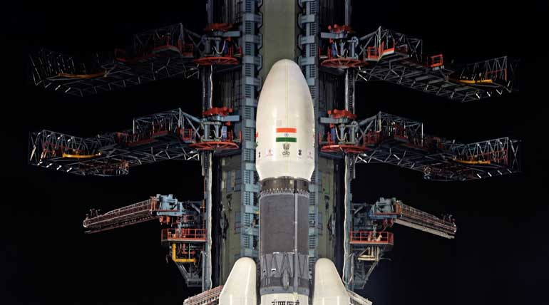 Chandrayaan II Mission Cancelled due to helium gas. Image ISRO
