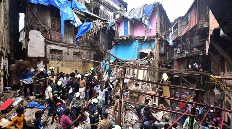 Mumbai Building Collapse Dongri. Image @SumaiyaSolanki