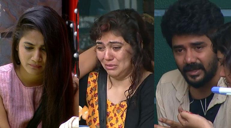 Bigg Boss 3 Tamil Day 26 Unexpected Crying and Consoling. Image Credit Vijay Tv Hotstar