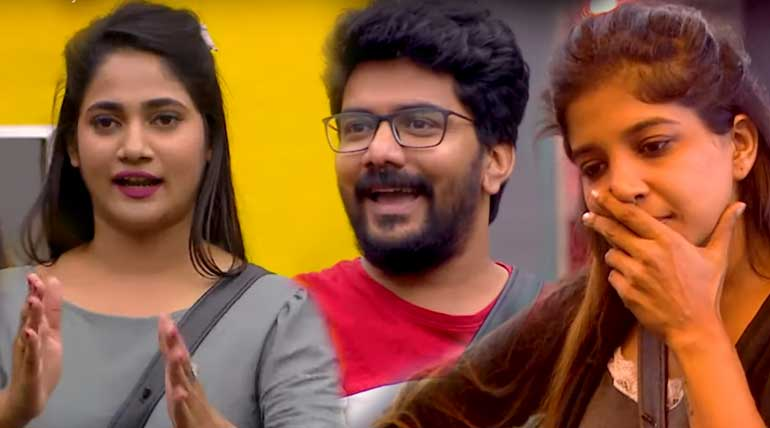 Bigg Boss Tamil 3 Day 24 Triangle Story of Sakshi Losliya Kavin. Image Credit Vijay Television Hotstar