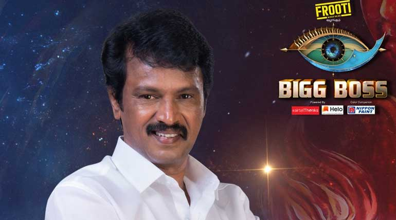 Bigg Boss Tamil 3: Cheran a Director of Excellence and Contestant of Grace.