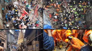 Mumbai Building Collapse 12 Died More Than 30 Trapped