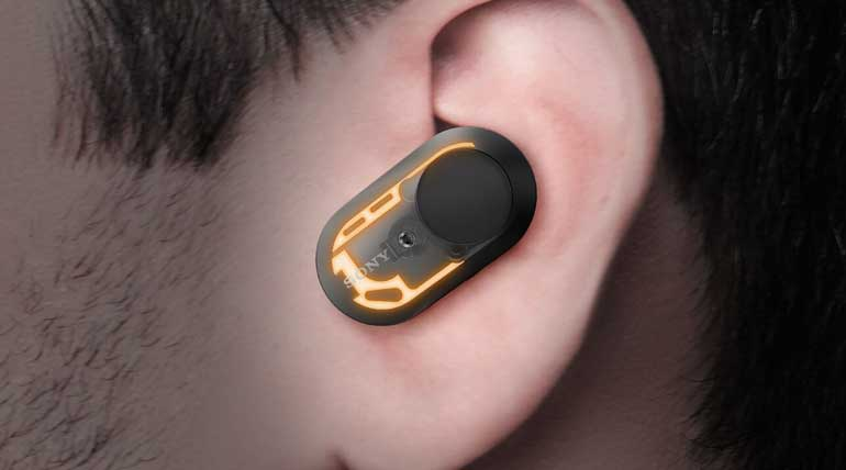 Sony WF-1000XM3 Truly Wireless EarBuds. Image Sony