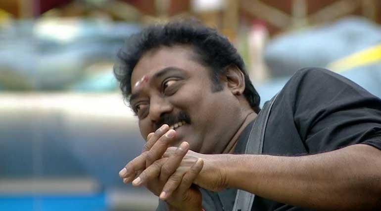 Bigg Boss Tamil 3: Saravanan the Survivor in Bigg Boss Tamil House. Image Credit Vijay TV Hotstar
