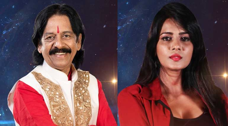 Bigg Boss Tamil contestant Meera and Mohan