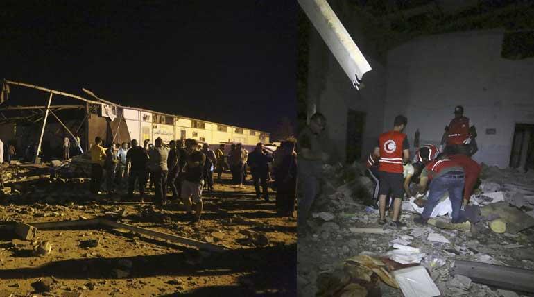 Libya Under Attack Airstrike kills 40 people