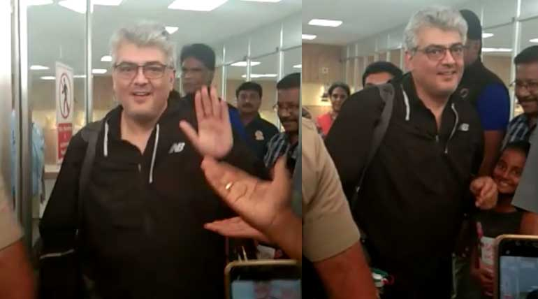 Actor Ajith Video in 10m Air Pistol Competition at Coimbatore Rifle Club