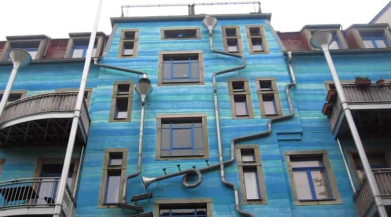The Singing building in Germany