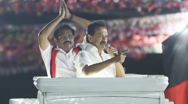 DMK Leader Stalin in Vellore Water Shortage, Youth Unemployment and his party MPs Achievement