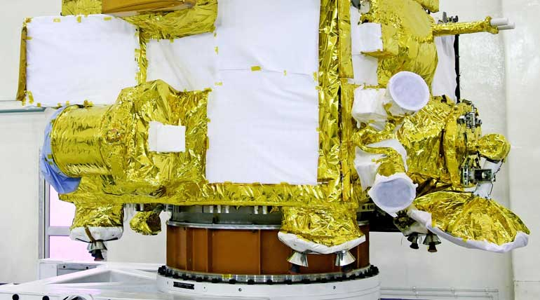 Chandrayaan-2 Will Be The First Attempt to Land On The South Pole of the Moon. Image ISRO