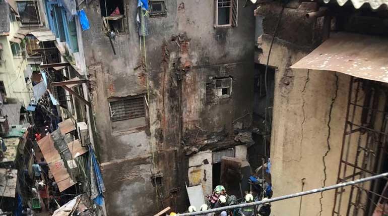 Mumbai Building Collapse Video Footage
