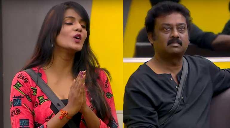 Bigg Boss Tamil Contestants Meera and Saravanan Hits Highest Nominations. Image Credit Vijay Television Hotstar