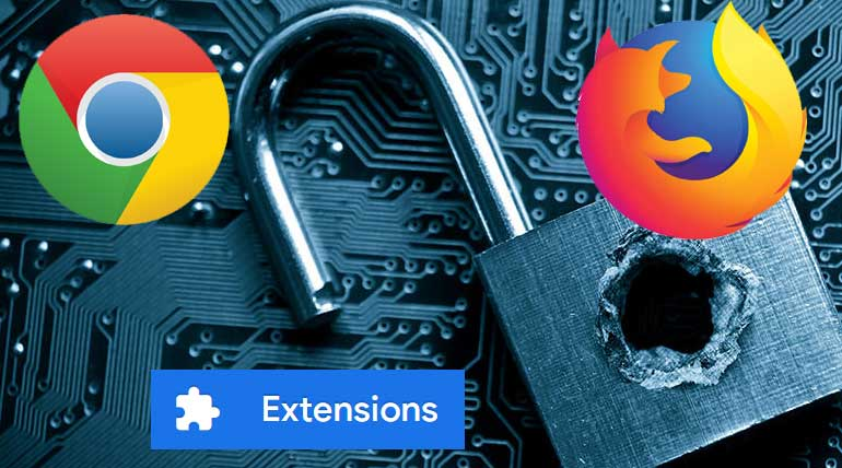 Firefox and Google Chrome Browsers Extensions Hacked Millions of USERS Data