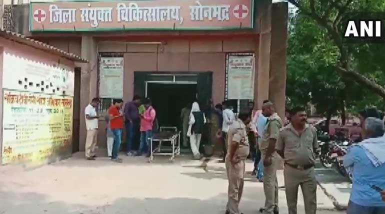 Nine Shot Dead in UP Over a Land Dispute. Image ANI