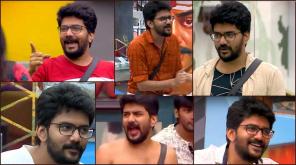 Bigg Boss 3 Tamil: Kavin in Devadoss Mode. Image Credit Vijay Television Hotstar