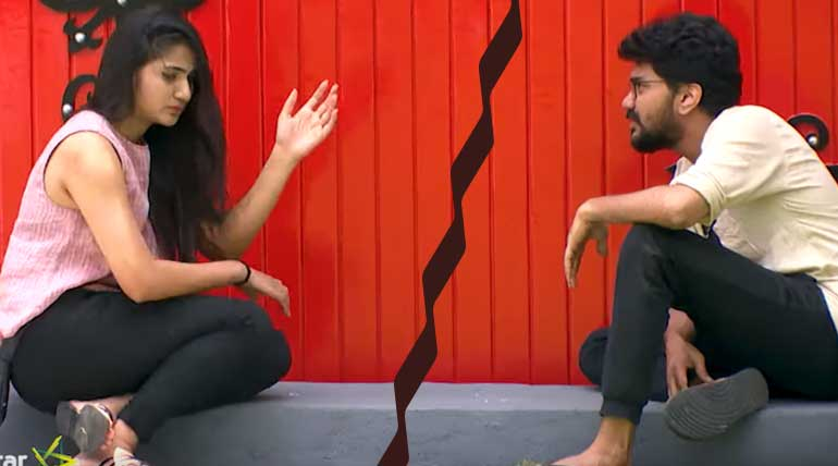 Bigg Boss Tamil 3 Before Elimination Day Kavin Apologies - Losliya Breakup