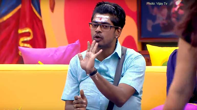 Bigg Boss Tamil 3 Day 29. Sandy