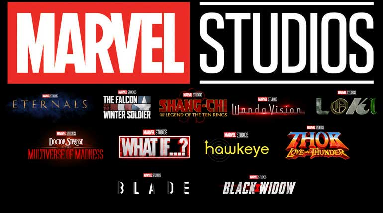 Marvel Studios Upcoming Movies List with New Characters
