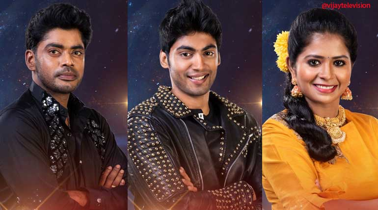 Bigg Boss Winner Tharshan, Madhu and Sandy are honoured by housemates
