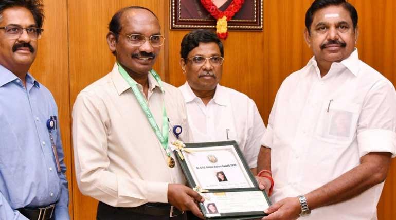 Abdul Kalam Award 2019 Conferred to ISRO Space Scientist Sivan