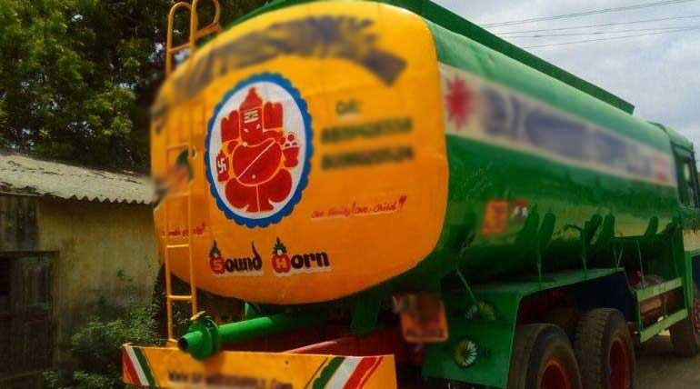 Private Water Supply Lorries Announced Indefinite Strike Today