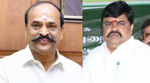 Ministers Kambur Raju and Rajendera Balaji