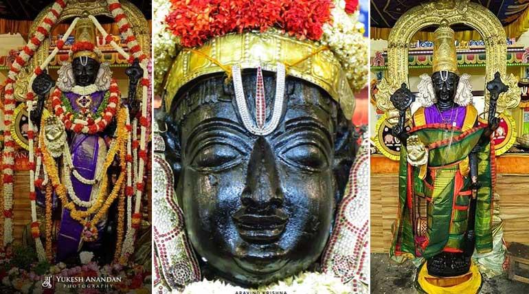 Athi Varadar in NINDRA KOLAM Brings Joy on Public Face