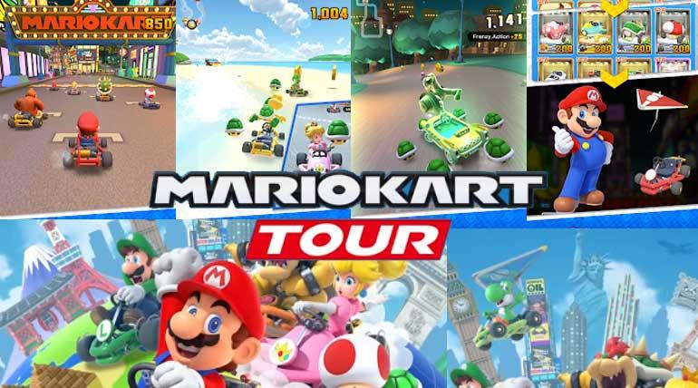 Pre-Register Mario Kart tour