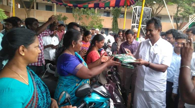 Minister S.P. Velumani Welfare Activities and Other Participation in Coimbatore