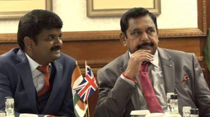 CM Edappadi Palaniswami and Health Minister Vijayabaskar in London
