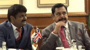 CM Edappadi Palaniswami and Health Minister Vijayabaskar in London