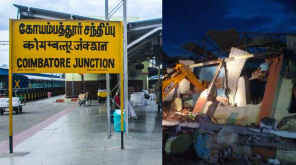 Non Stop Rain in Coimbatore Killed Two and Collapsed a Building